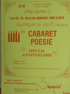 Cinquième Cabaret poésie