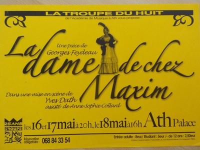 La dame de chez Maxim's