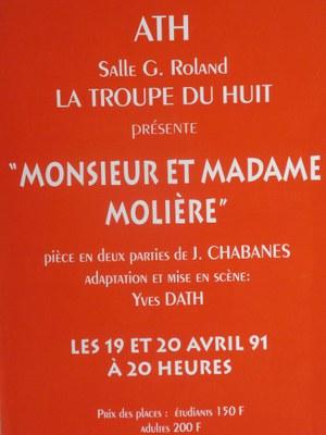 Monsieur et Madame Molière