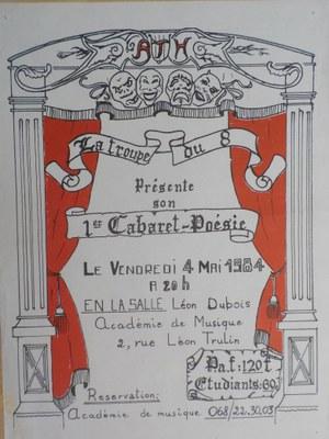 Premier Cabaret Poésie