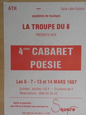 Quatrième Cabaret Poésie
