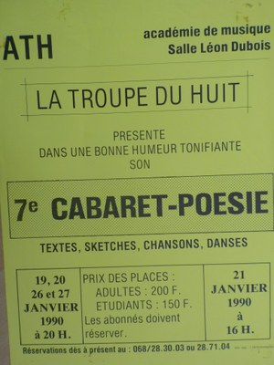 Septième Cabaret poésie